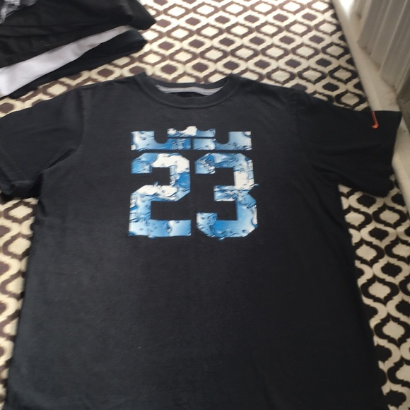 new products 3c042 50483 Nike Lebron James Boys T Shirt